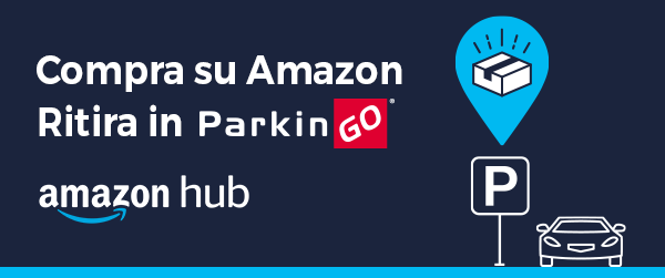 Amazon Hub Locker disponibili nelle strutture ParkinGO