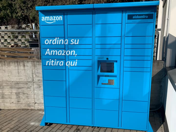 Amazon Locker Hub ParkinGO